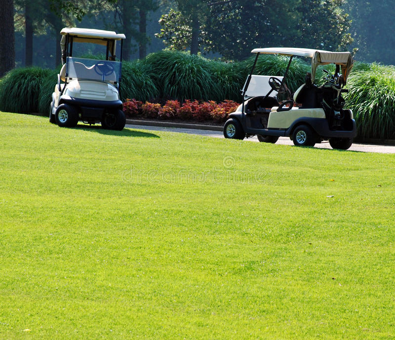 Golf On A Sunny Day 1 Stock Images