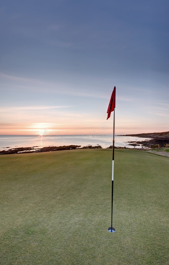 Free Golf Sunrise - Castle Course, St Andrews Stock Photography - 9091322