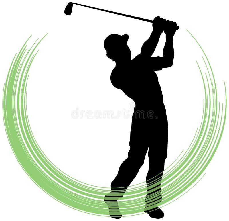 Download Golf Swing stock vector. Illustration of illustrator - 20045328