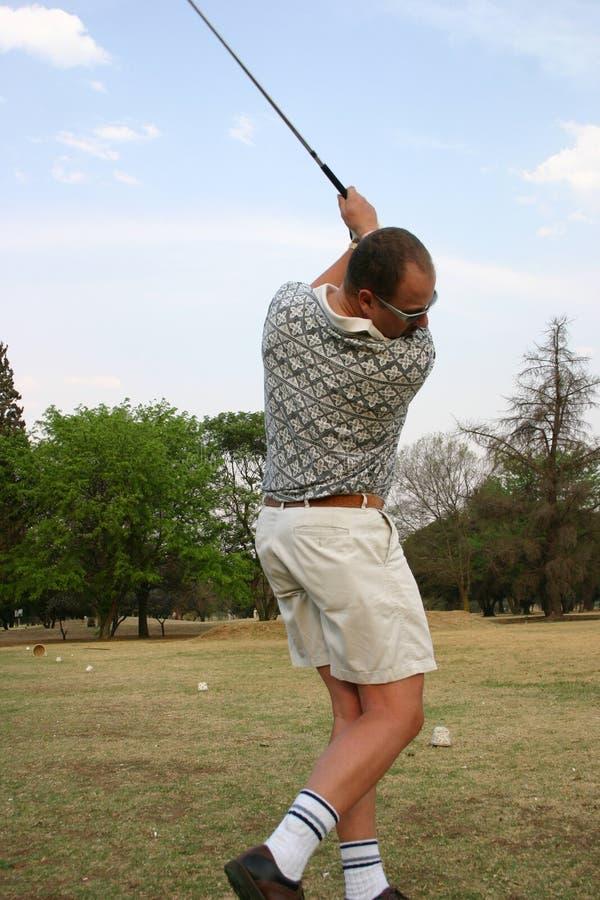 golf swing2 obraz stock