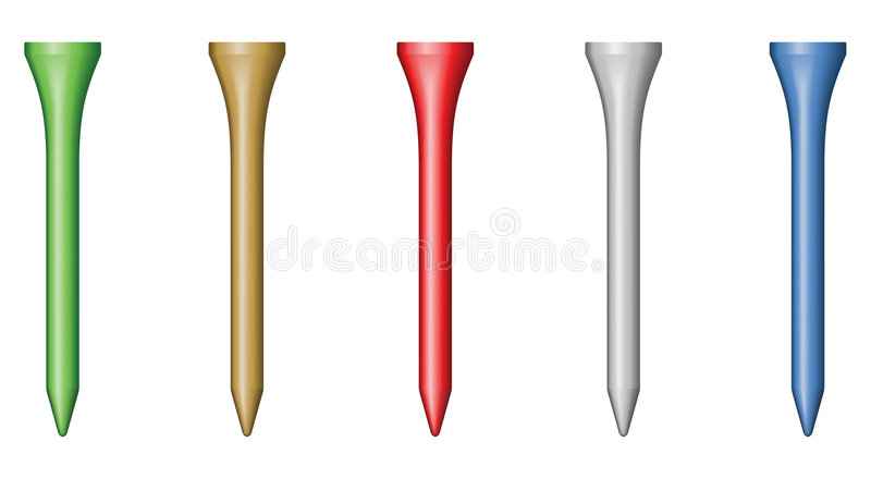 Golf Tee Royalty Free Stock Photography