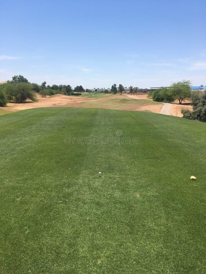 Golf Teebox photos libres de droits