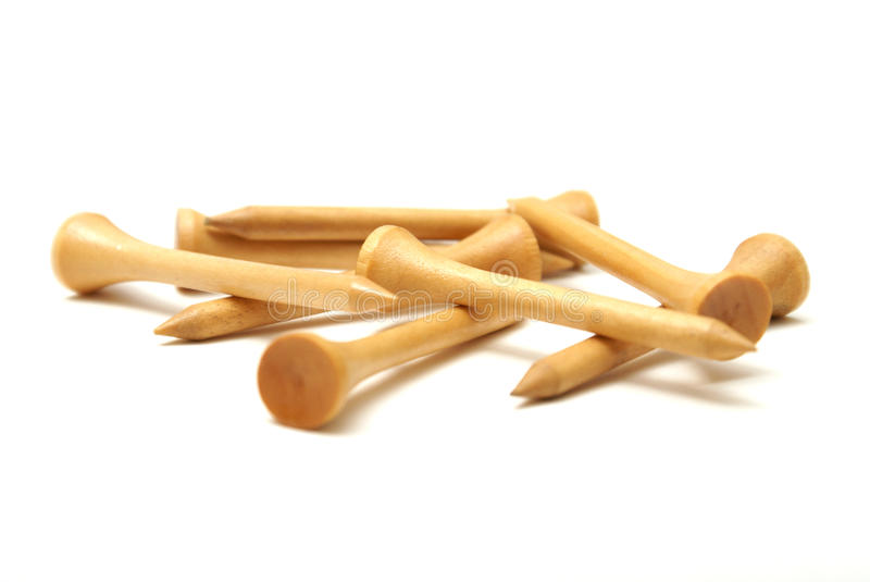 Golf Tees stock image