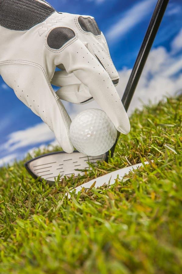 Golf Theme Royalty Free Stock Photos