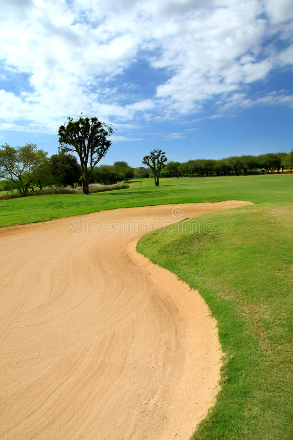 Golf track stock images