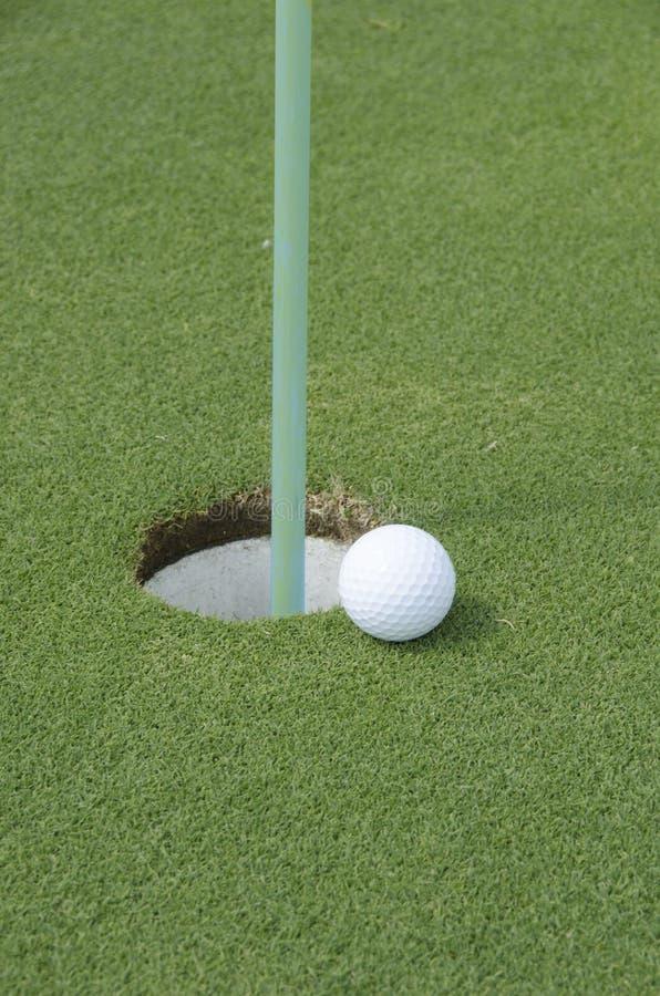 Golf turf stock photography