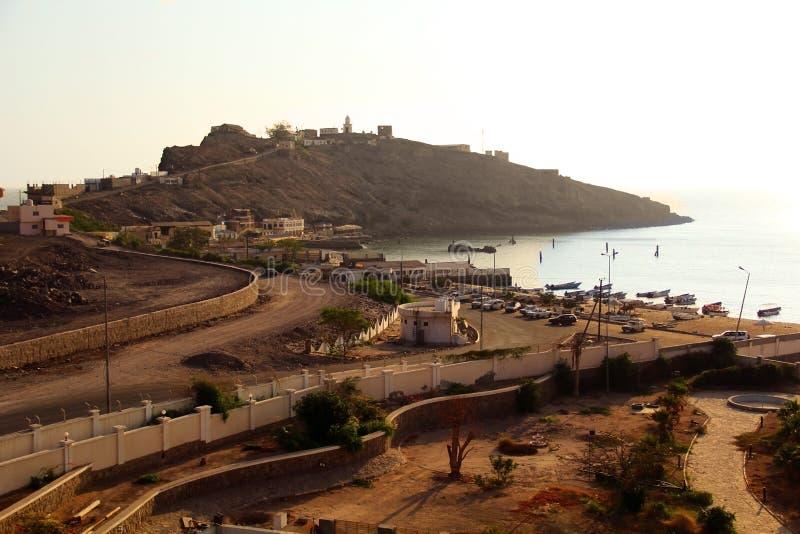 Golf van Aden in Yemen royalty-vrije stock afbeelding