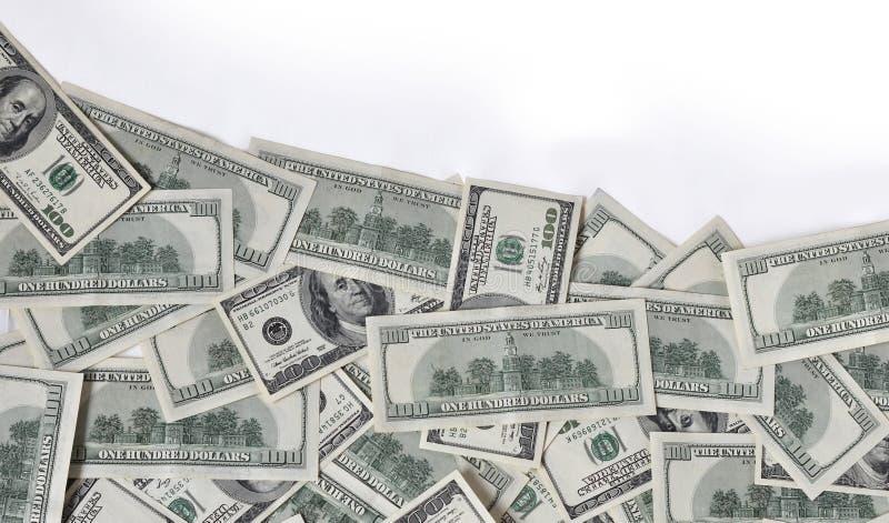 Golf van geld stock fotografie