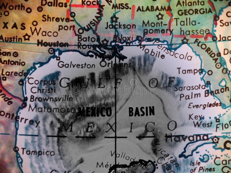 Golf van Mexico royalty-vrije illustratie