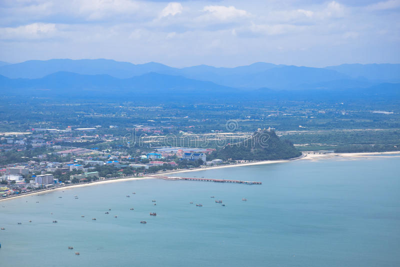 Golf van Thailand royalty-vrije stock afbeelding