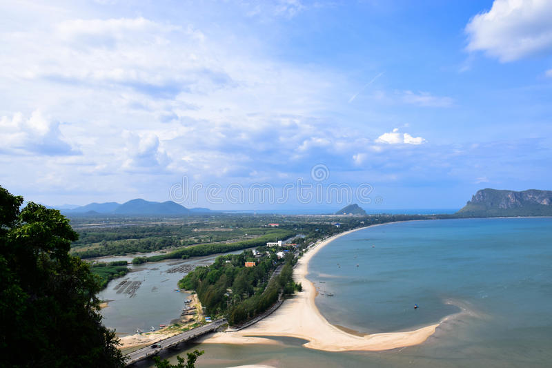 Golf van Thailand stock foto
