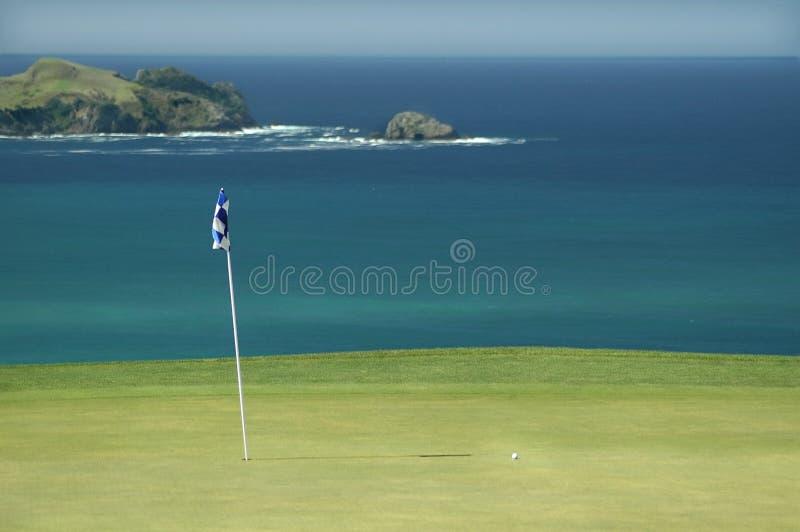 Golf - verde foto de archivo libre de regalías