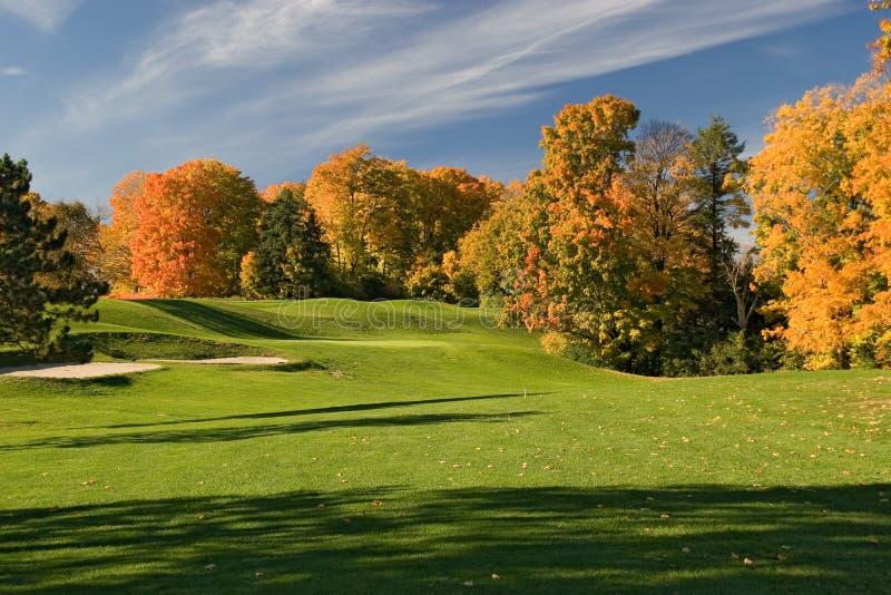 Golf view 03 stock photos
