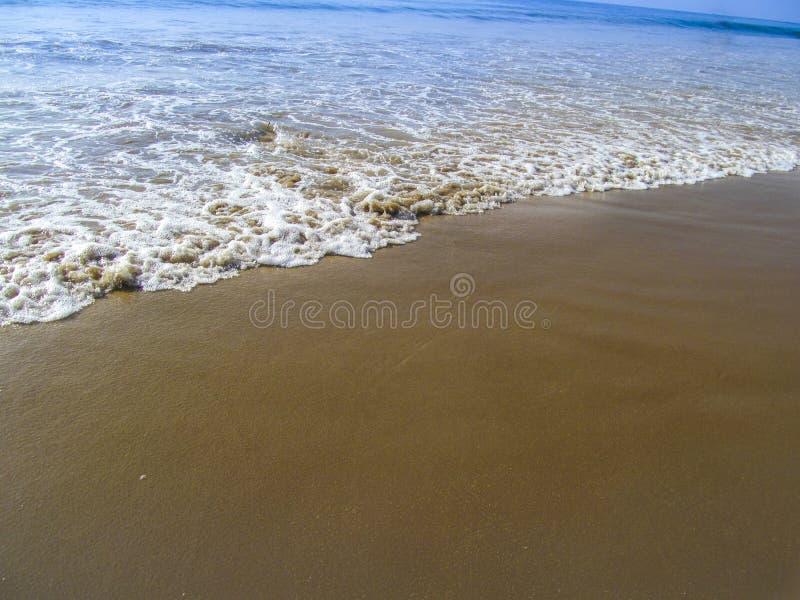Golf von Bengalen, Seeküste von Puri von Indien lizenzfreie stockfotos