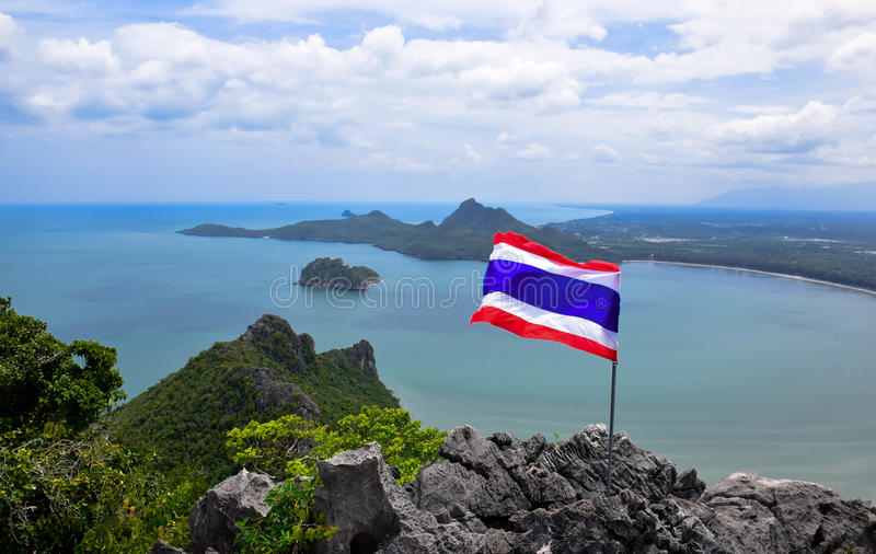 Golf von Thailand lizenzfreie stockfotografie