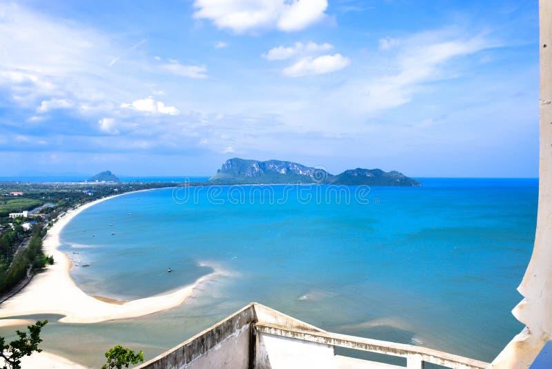 Golf von Thailand stockfotografie