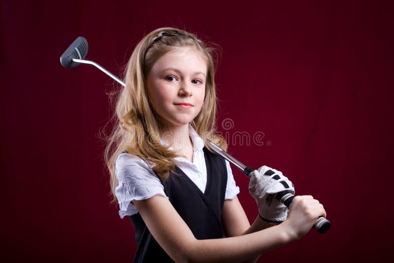 Golf w żywym pokoju 5 obrazy stock