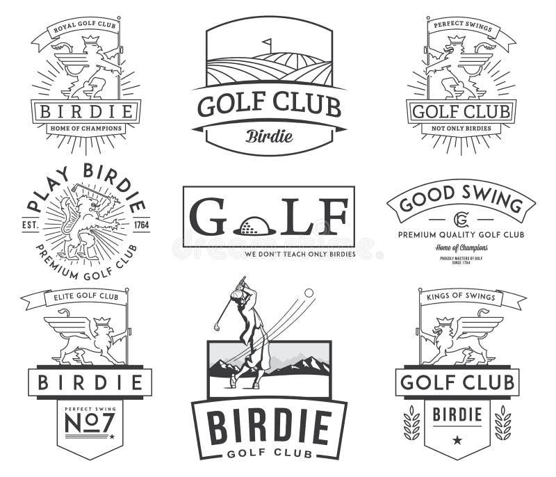 Golf wird deutlich und beschriftet Vol. 2 lizenzfreie abbildung