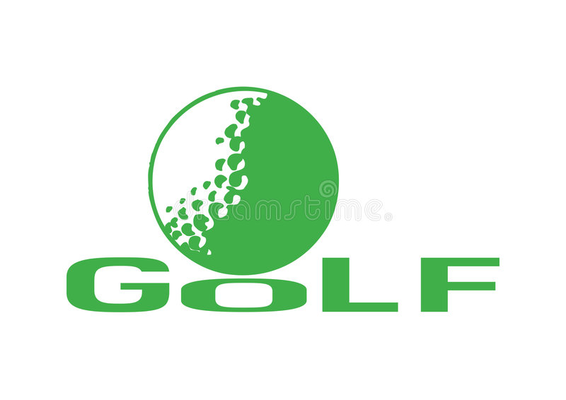 Download Golf1 stock vector. Image of leisure, vector, sports, white - 8951421