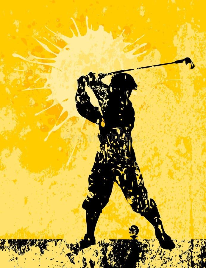 Golf2 stock illustratie
