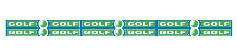 Golf3 ilustração do vetor