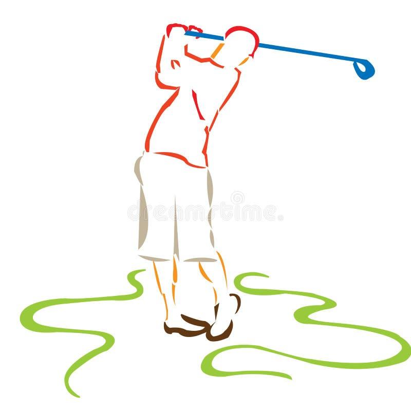 Golf7 ilustração stock