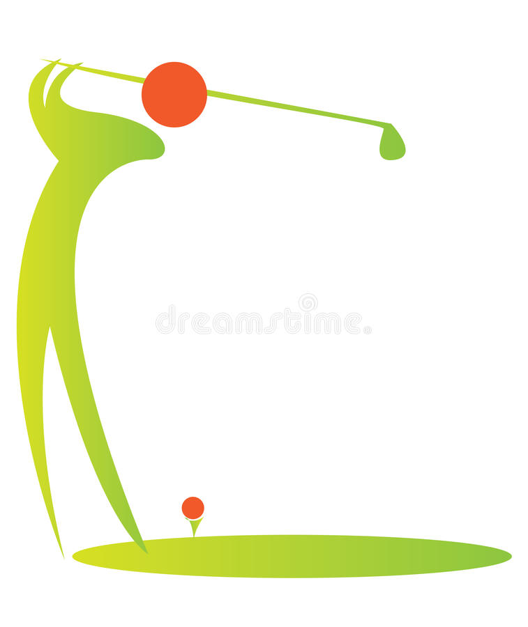 golf9 διανυσματική απεικόνιση