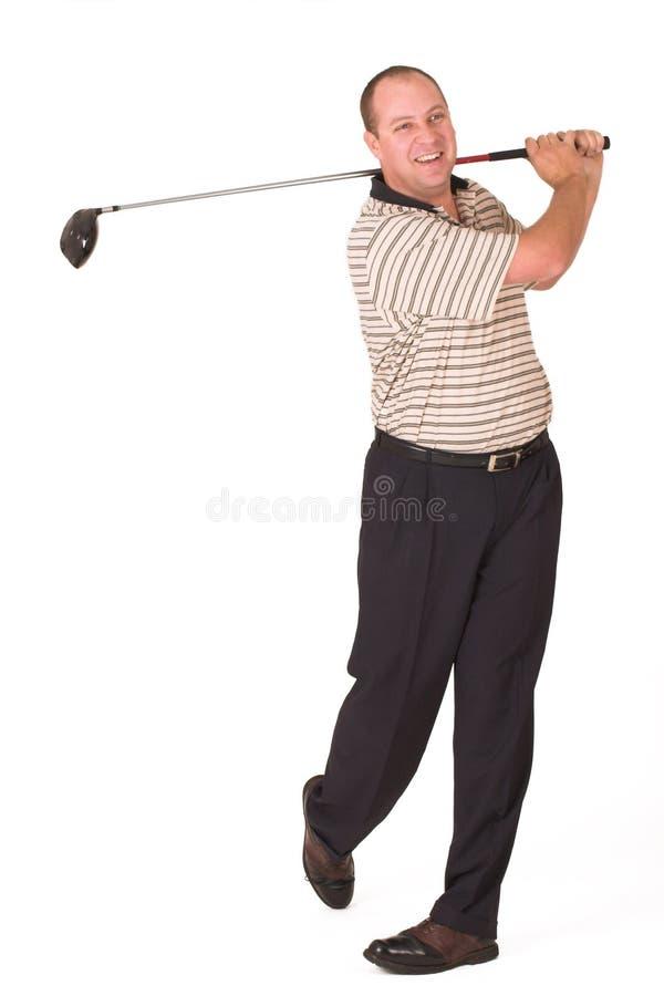 golfare 7 fotografering för bildbyråer