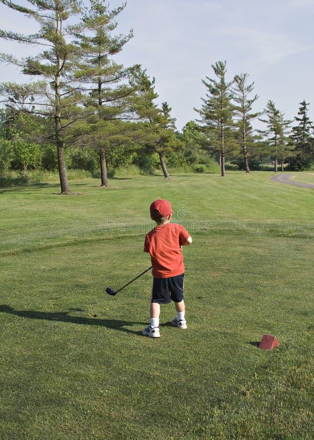 golfare little royaltyfri fotografi