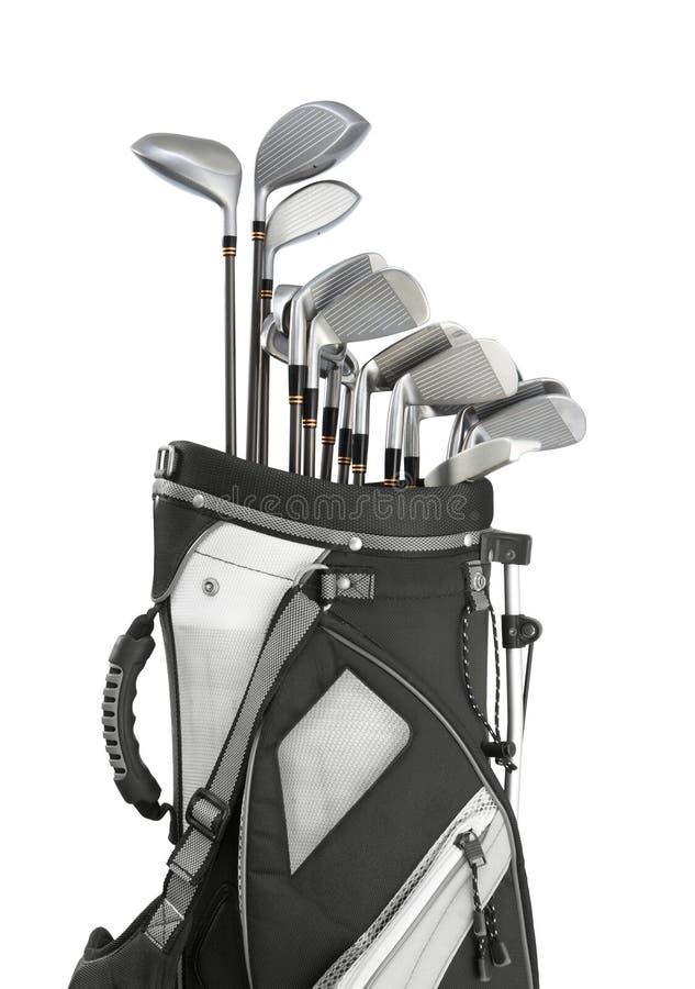 Golfausrüstung stockfoto