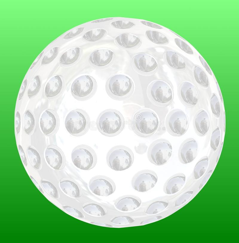 Golfbal stock illustratie