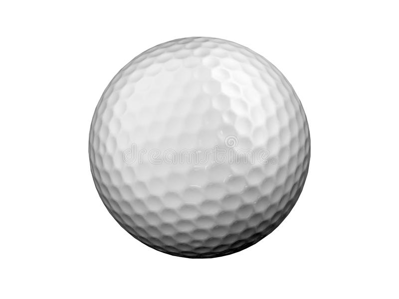 Golfbal vector illustratie