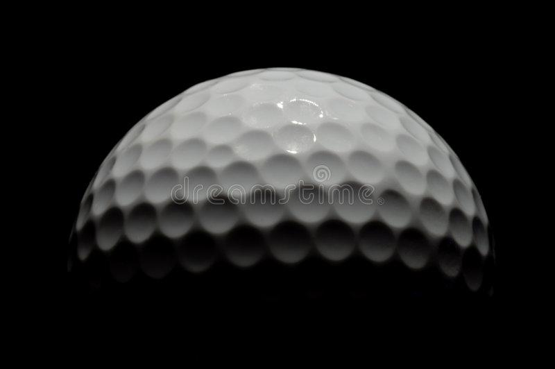 Golfball 1 stockfotografie