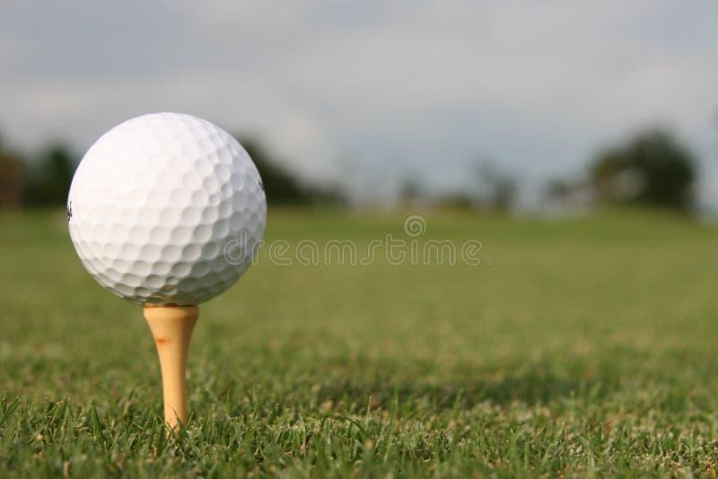 Golfball. lizenzfreies stockbild