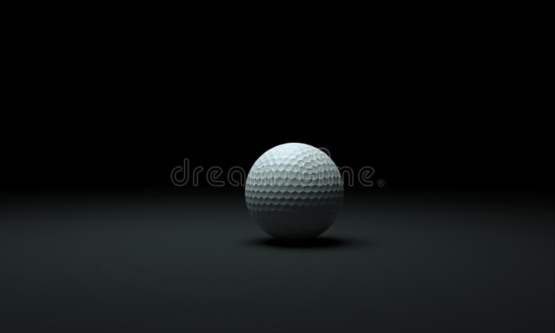 Golfball vector illustratie