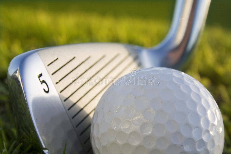 Download Golfball stock image. Image of golfclub, iron, green, detail - 2654683