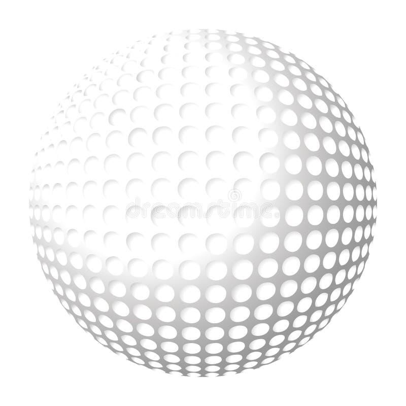 Golfball lizenzfreie abbildung