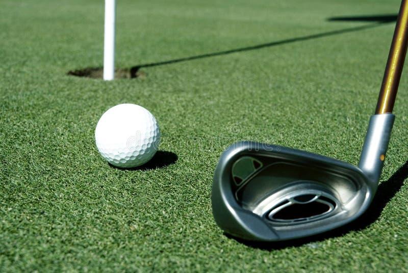 Golfball 8 stockbild
