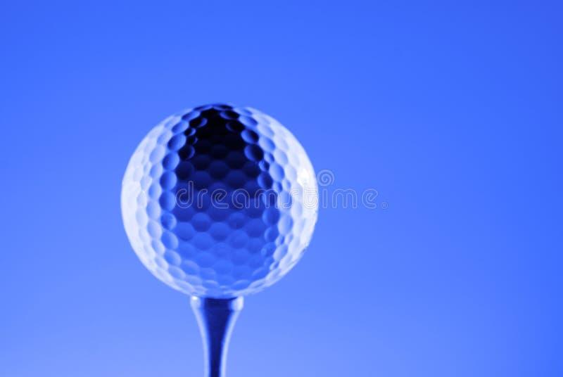 Golfball für Sport und Erholungs-Leichtathletik-Gesundheit lizenzfreies stockfoto