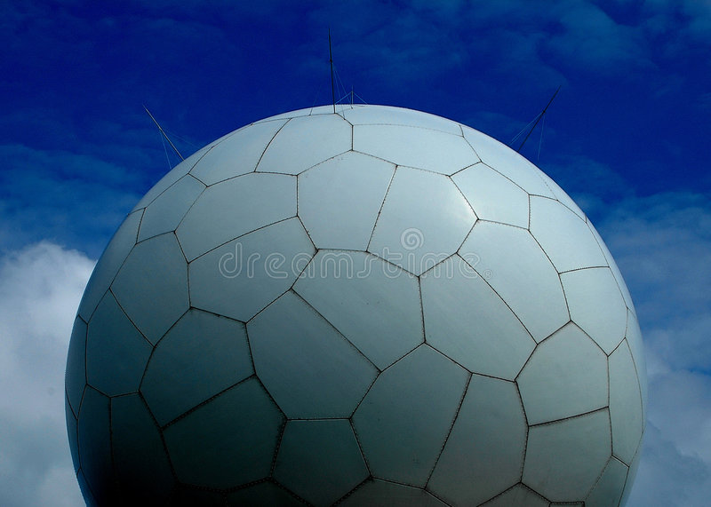 golfball radar obrazy royalty free