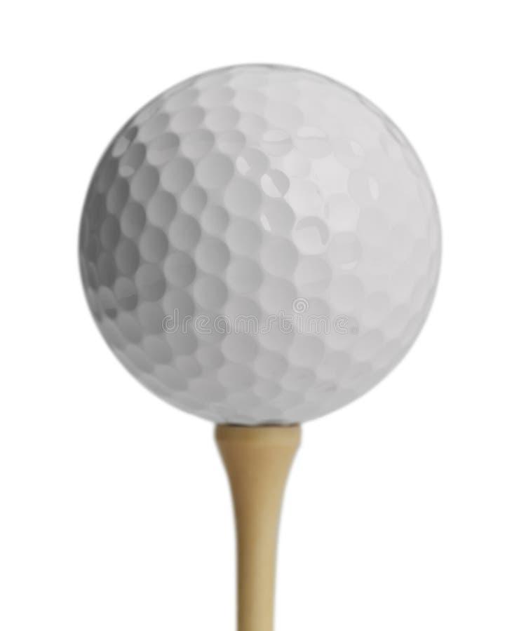 Golfball-T-Stück lizenzfreies stockfoto