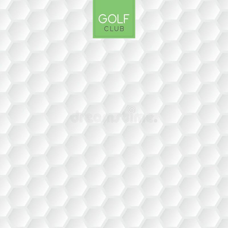 Golfballbeschaffenheitshintergrund lizenzfreie abbildung