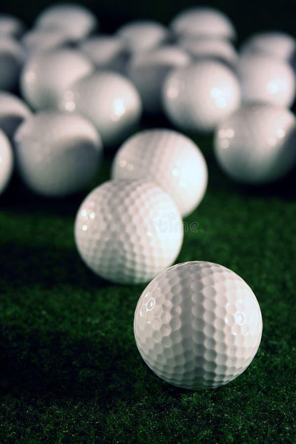 golfballs 库存图片