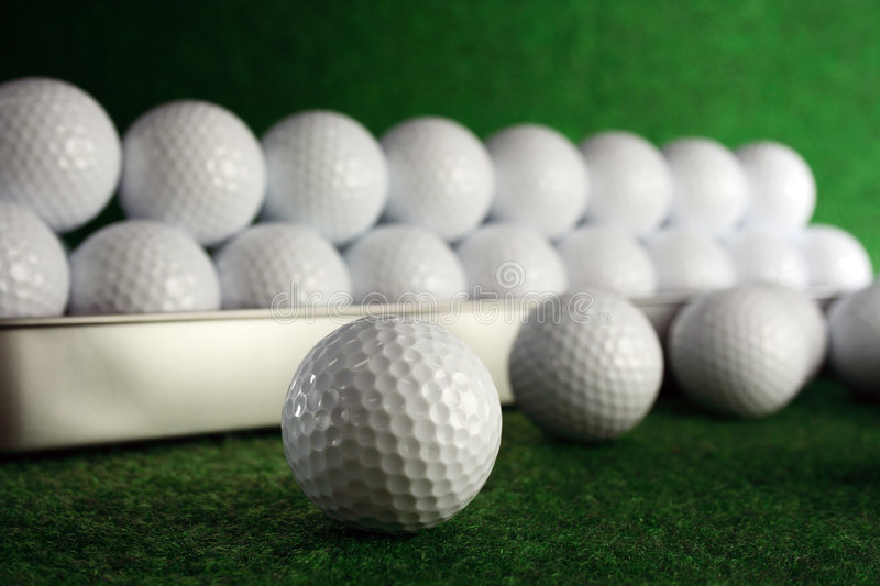 Download Golfballs Stock Photo - Image: 4024020