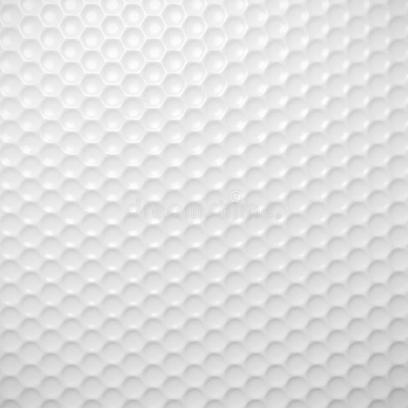 Golfballtapeten-Hintergrundbeschaffenheit lizenzfreie abbildung