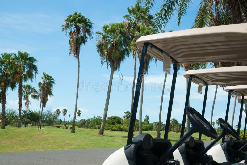 Golfbanabild. arkivbilder