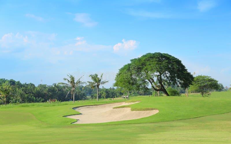 Golfbanagolfbana arkivbilder