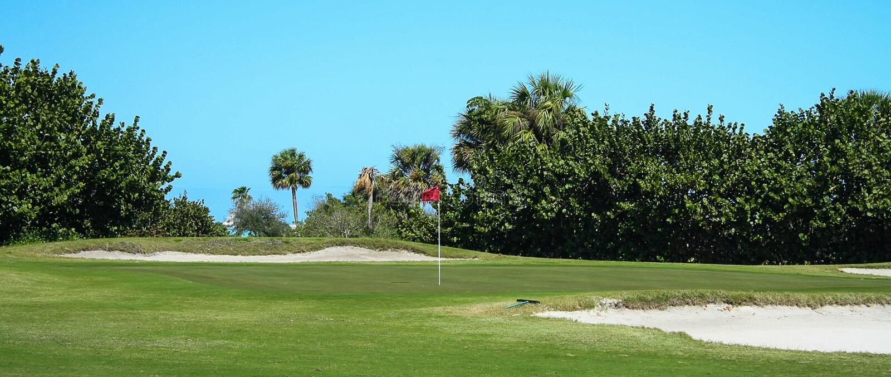 Golfbanaserie arkivfoton