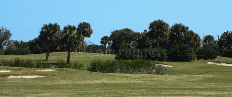 Golfbanaserie royaltyfri foto