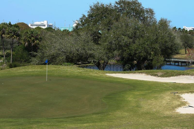 Golfbanaserie arkivbilder